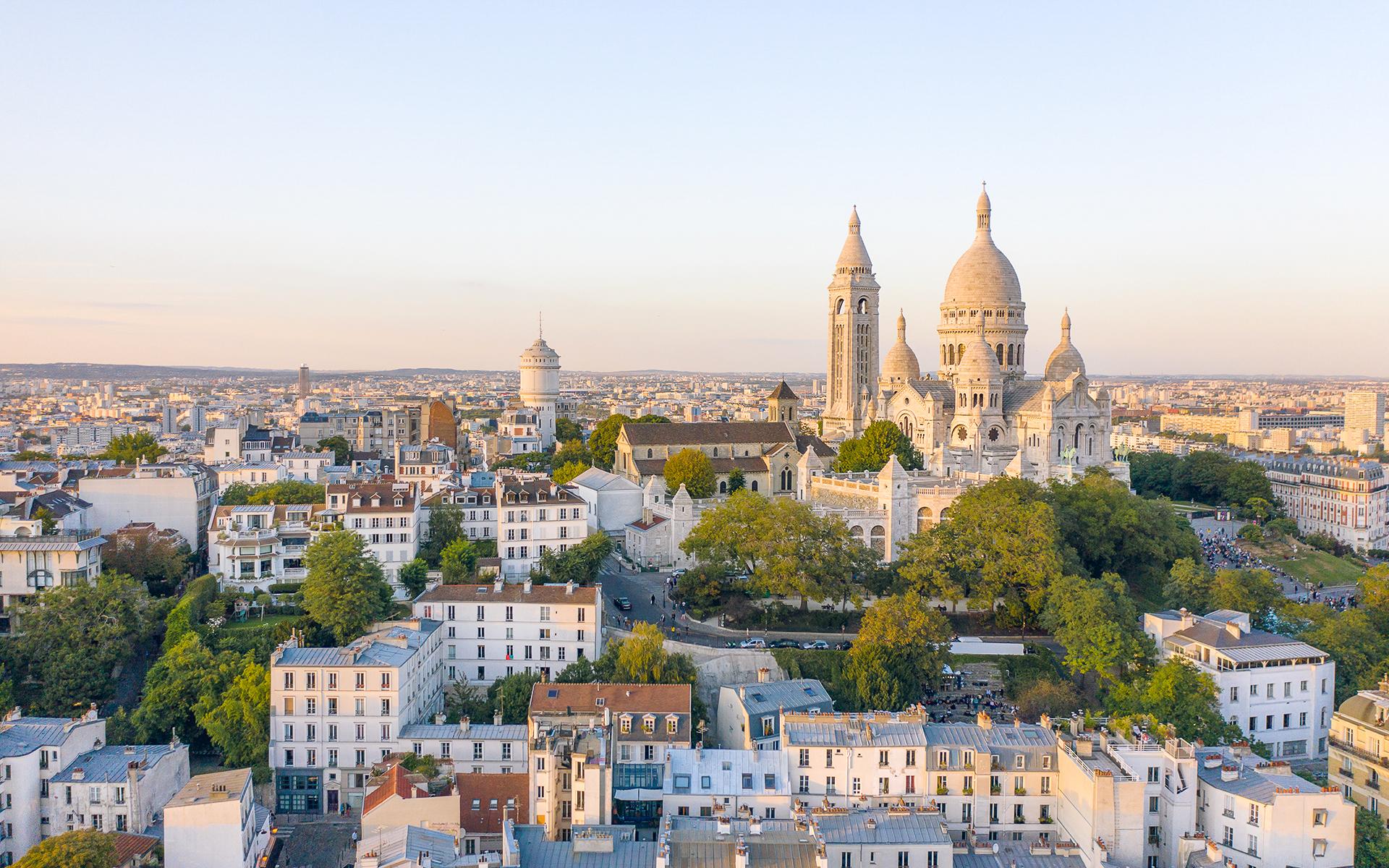 Vue de Paris Montmartre